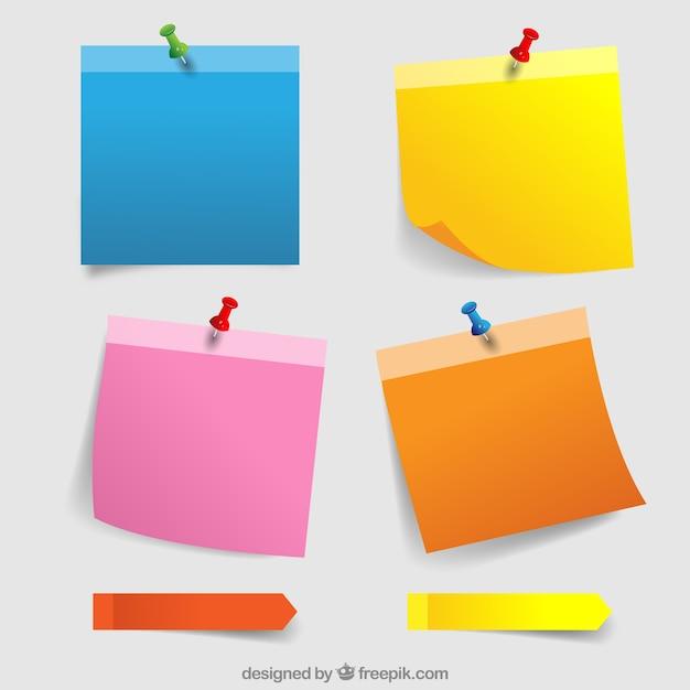 post it notes vectors photos and psd files free download rh freepik com free vector post it note paper Custom Post It Notes