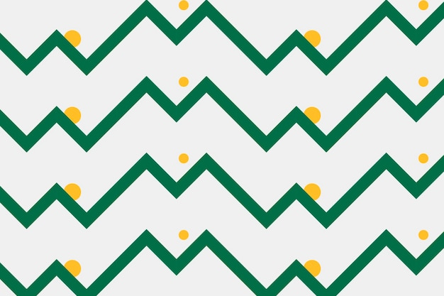 Colorful pattern background, green zigzag, creative design vector