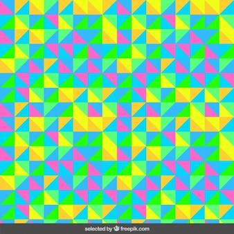 삼각형으로 만든 화려한 패턴