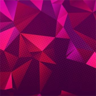 Красочный фон многоугольник