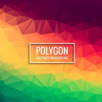 Красочный фон полигон