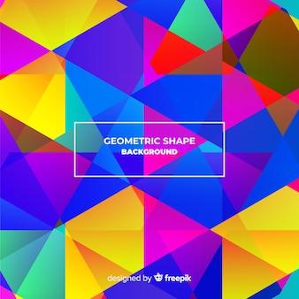 Sfondo poligonale colorato
