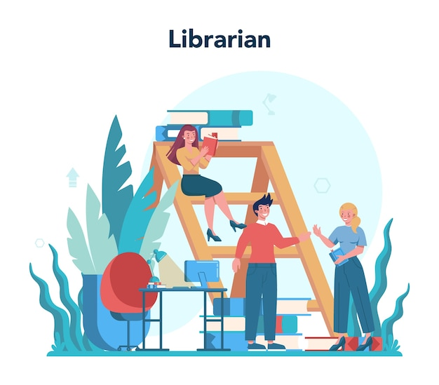 Colorful profession illustration