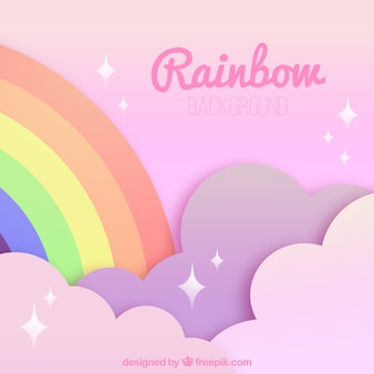 Colorful rainbow background