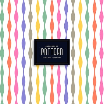 Colorful ribbon style birthday pattern background