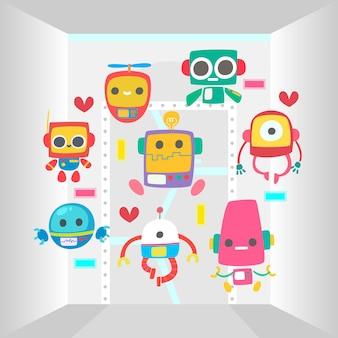 다채로운 로봇 컬렉션