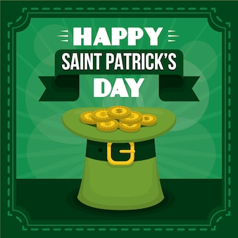 Colorful saint patrick's day greeting
