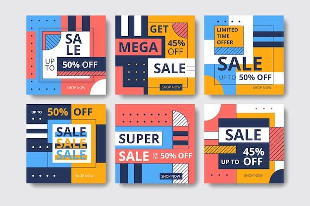 다채로운 판매 인스 타 그램 게시물 모음
