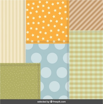 Colorful scrapbook background