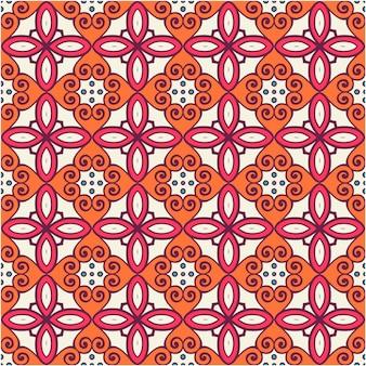 다채로운 원활한 패턴 배경