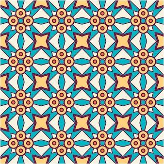 カラフルなシームレスパターン背景