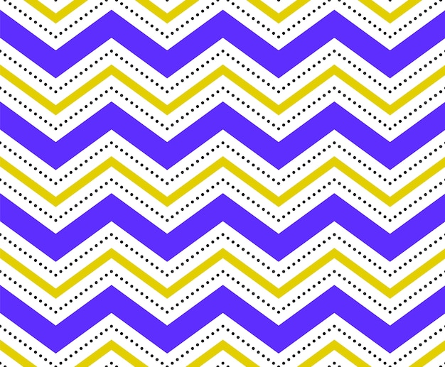 Colorful seamless white geometric pattern