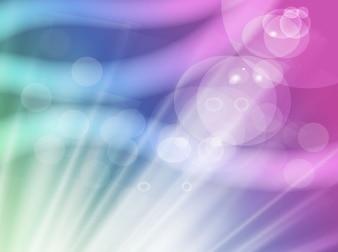 Colorful shine rays background layout