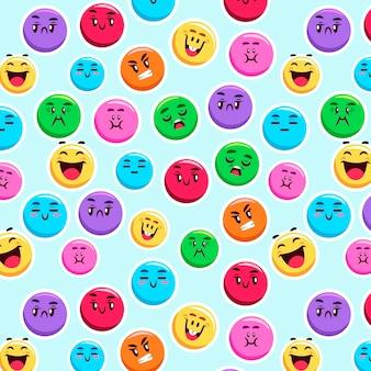 Красочная улыбка смайликов