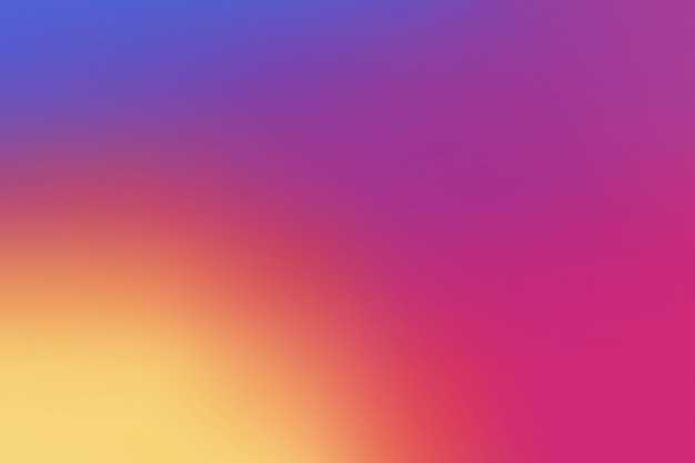 Colorful smooth gradient background