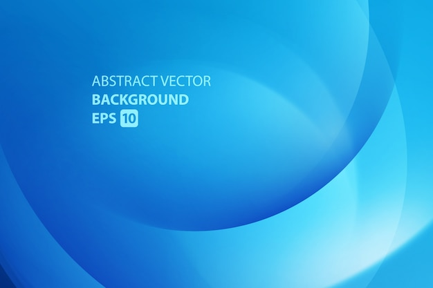 Colorful smooth twist light blue lines vector background.