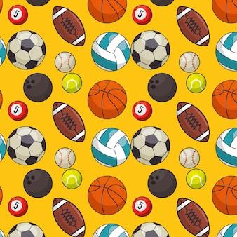 カラフルなスポーツの背景