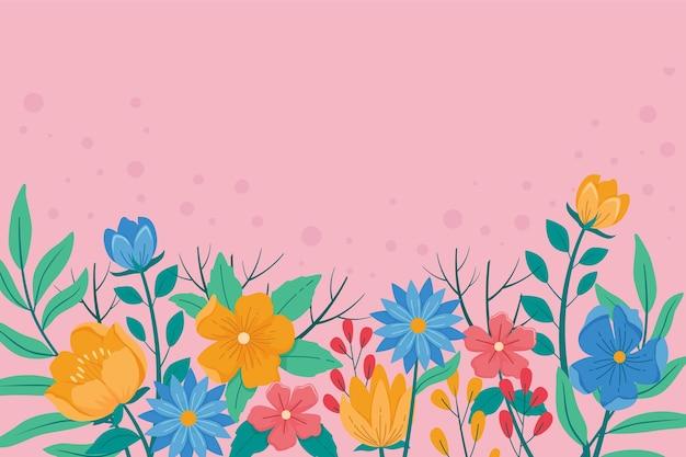 화려한 봄 배경