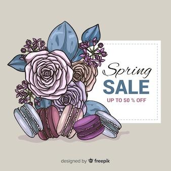 화려한 봄 판매 배경
