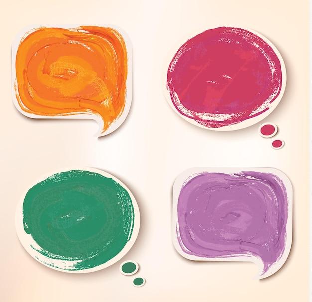 다채로운 스티커 아이콘입니다.