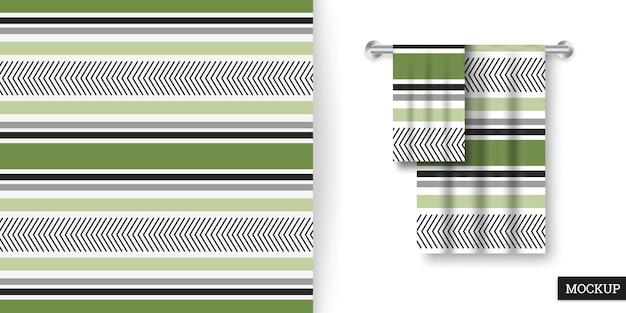 다채로운 줄무늬 원활한 패턴