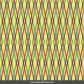 다채로운 줄무늬 패턴