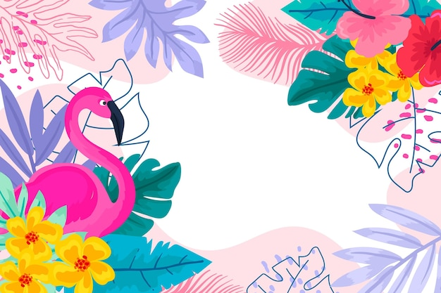Colorful summer background design
