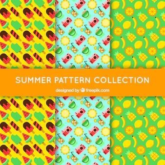 Collezione colorata estate modello