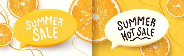 Colorful summer sale background layout banners design horizontal posterheader for website
