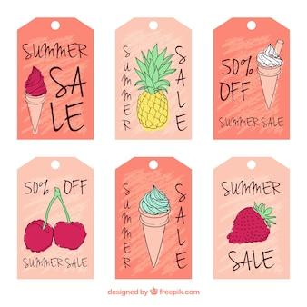 Карты продажа красочные летние