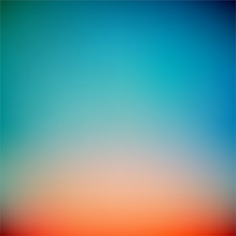 Colorful sunset gradient vector background