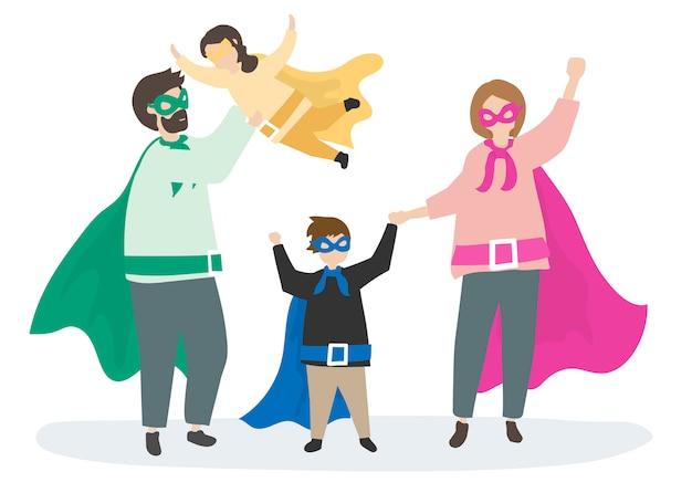 Supereroi colorati in soccorso