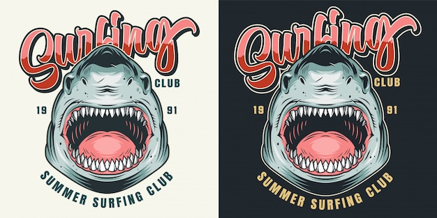 Stampa colorata per surf club