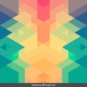 Colorful symmetrical geometric