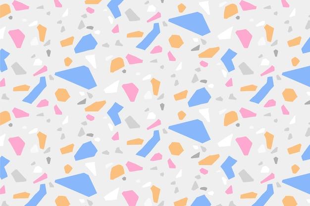 다채로운 테라 조 패턴 디자인