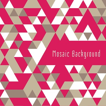 Colorful triangular shape geometric background