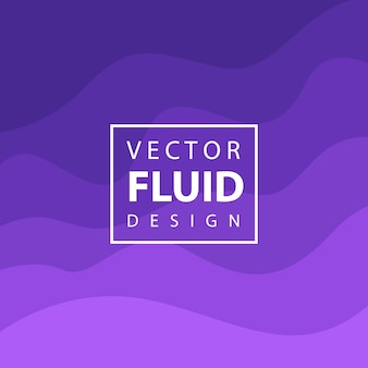 Colorful Vector Fluid Design Background