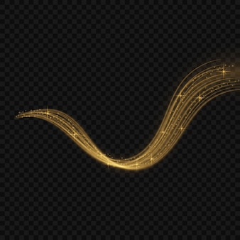 Colorful vector illustration with golden decorative elements over black background. abstract templates for holiday design