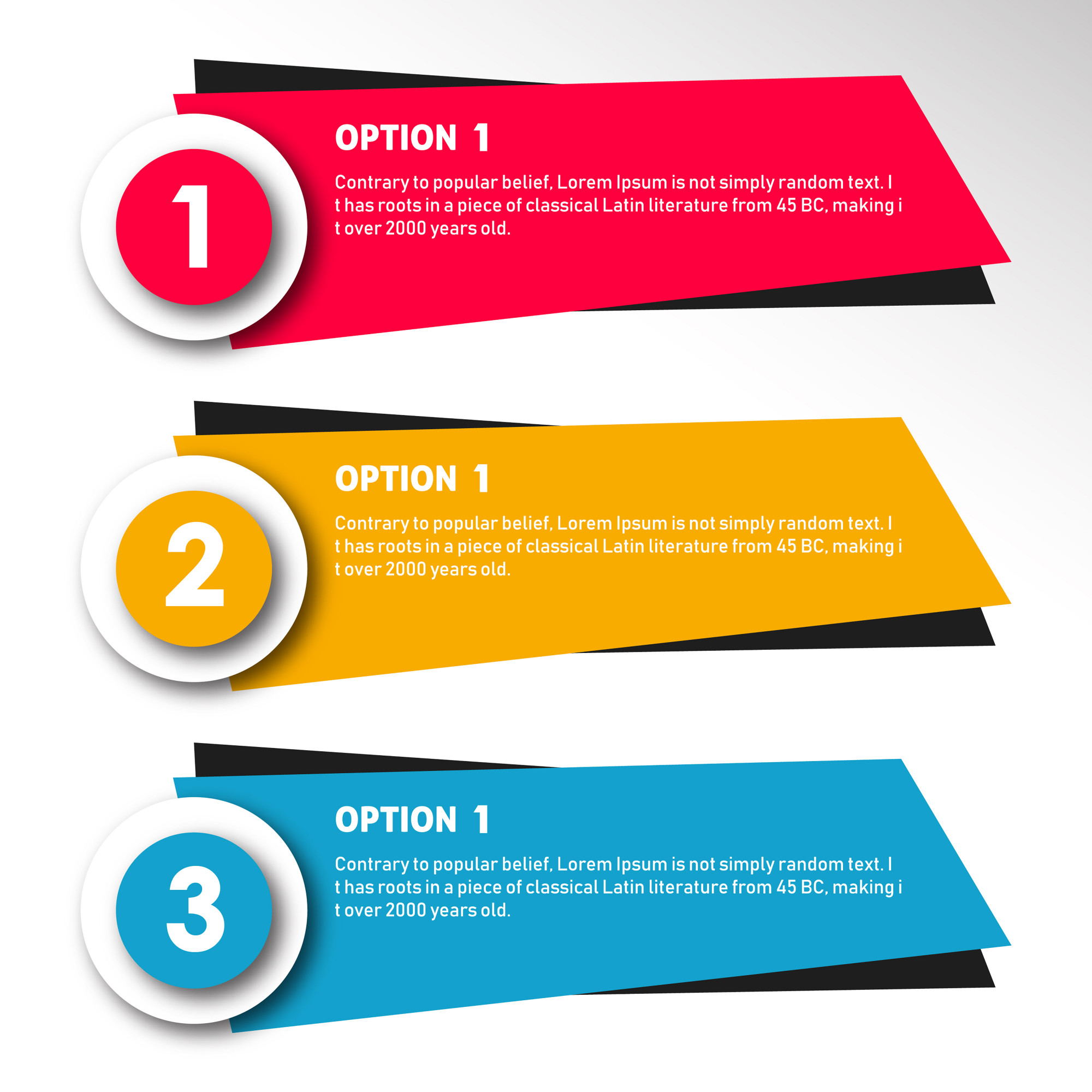 colorful vector infographic Designs
