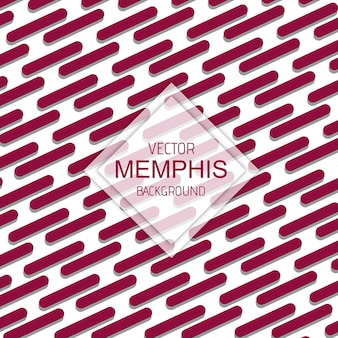 Colorful vector memphis background