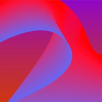 Красочная яркая трехмерная графика