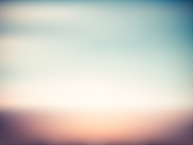 Colorful vintage sunset gradient blur summer background