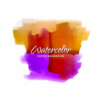 Colorful watercolor brushes