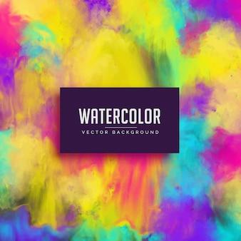 Colorato acquerello macchia astratto sfondo