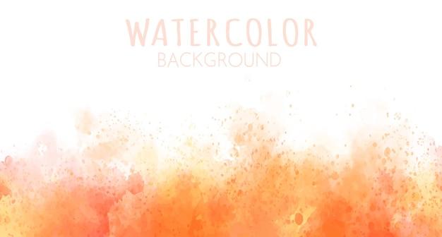 カラフルな水彩ステインの背景