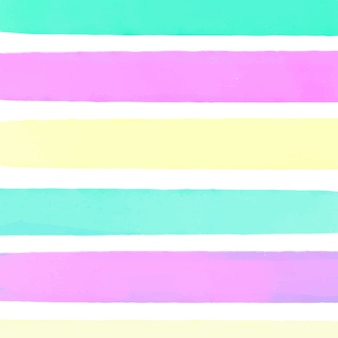 Colorful watercolor striped background