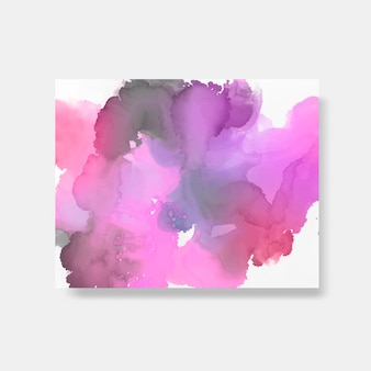 Colorful watercolor style banner vector