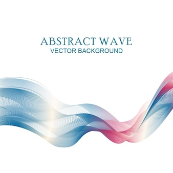 Colorful wavy background banner