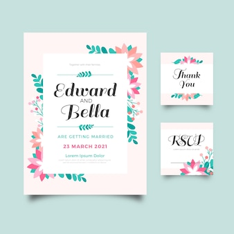 Красочные свадебные канцтовары