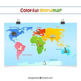Continents vectors photos and psd files free download gumiabroncs Choice Image